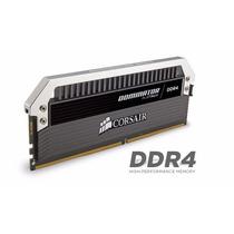 Memória Corsair Dominator Platinum 2666mhz 16gb 4 X 4gb Ddr4