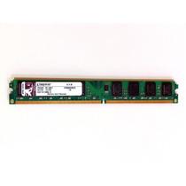Memória Kingston Ddr2 4gb 800mhz Pc2-6400 Kit 2x2 Promoção