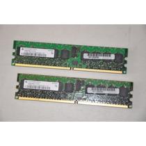 Memoria Dell C5333 (2 Modulos De 512mb Ddr2 400mhz Bcc) Nova
