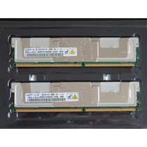 4gb Memória Samsung Ecc Fully Buffered Hp Ibm Dell Apple