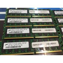Memoria Ecc Registrada 4gb Pc2-3200r 400mhz Mt36htf51272y