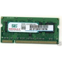 Memoria Sis Ssx264m8-j6e Ddr2 Ram 667mhz 512mb Pc2-5300