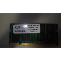 Ocz Ocz26671024vso 2gb (2x1gb) Notebook Ddr2 667 Mhz