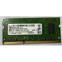 Memoria 2 Gb 1333 Mhz Smart 1.5 V Notebook- Nova!