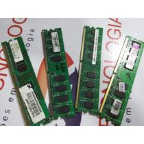 Memoria Desktop Ddr2 2gb Varias Marcas - Com Garantia