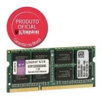 Memória 2gb Notebook Ddr3 1600 Mhz Kingston Kvr16s11/2