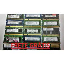 Memória Ddr2 1gb 667 800 Samsung Kingston Smart Acer Hp Cce