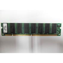 Memória 512mb (kit 2x 256 ) Pc100 Chipset Samsung Nova