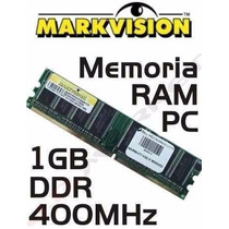 Memoria 1gb Ddr1 400mhz Kingston
