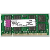 Memória Kingston P/ Notebook 1gb Ddr-2 / 800 Mhz /2 Memorias
