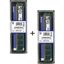 Kit 2x Memória Kingston Ddr2 2gb 800mhz Pc26400 Dual Channel