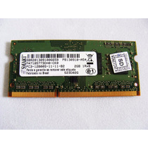 Memoria Ddr3 2gb Notebook - Memória Nova - Samsung