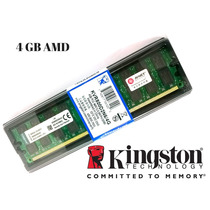Ddr2 4 Gb Pc2-6400u/800 Mhz Desktop Ram Kingston Amd.