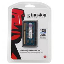 Memória Kingston Para Notebook Hp 4gb 1600mhz Ddr3 Kth-x3c/4