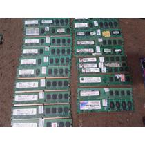 Memoria Ddr2 2gb De Pc 800 E 667 100% Ok Testada E Com Garat