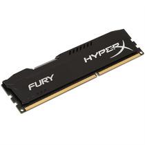 Memória Gamer 8gb Ddr3 1600mhz Kingston Hyperx Fury Black