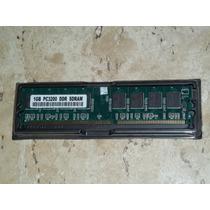 Memória 1 Gb Ddr 400 Mhz Pc3200 - Frete Gratis Todo O Brasil