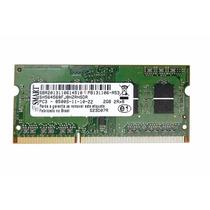 Memoria Notebook Ddr3 2gb Pc3-8500s Smart