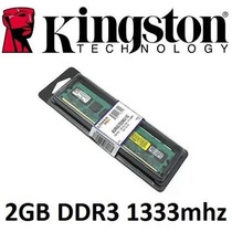 Memória Kingston 2gb 1333mhz Ddr3 Cl9 Kvr13n9s6/2