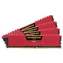 Memória Corsair Ddr4 Vengeance Lpx 1 X 8gb 2400mhz Red