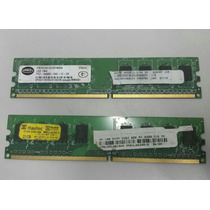 Lote Com 10 Memorias Ddr2 1gb 800mhz / Pc2 6400