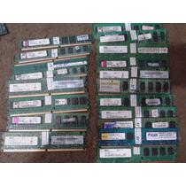 Memoria Ddr2 1gb Multimarcas 667e 800 100% Testada Garantia