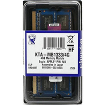 Memória Notebook 4gb Ddr3 1333mhz - Kingston - Lacrada!