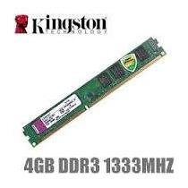Memória Kingston Ddr3 - 1333 / 4gb + Garantia De 1 Ano