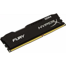 Memória Kingston Hyperx Fury Black Ddr4 8gb 2133mhz Cl14