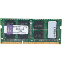 Memória 8gb Ddr3 1600mhz Kingston Notebooks Dell Vostro 5470