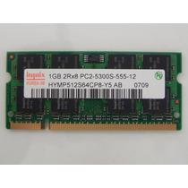 Memoria Hynix Notebook 01 Gb Ddr2 667 Pc2-5300s-555-12