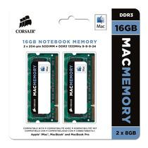 Memória Corsair Ddr3 16gb (2x8gb) 1333mhz Notebook Mac Apple