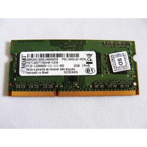 Memoria P/ Notebook 2gb Ddr3 Pc3-12800s 1600mhz Envio Rapido