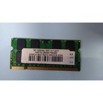 Memória Ram 2gb Ddr2 800mhz Pc6400 Para Notebooks