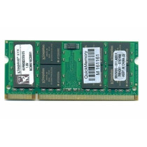 Memoria Nova P/ Notebook Ddr2 2gb Kingston * 1 Ano Garantia