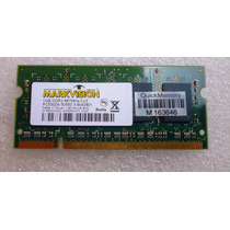 Memoria Notebook Ddr2 1gb Pc5300s-50550 667mhz Markvision