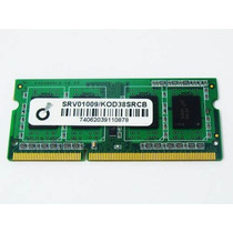 Memoria Ddr3 4gb 2 Pentes De 2gb Notebook