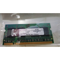 Memória Notebook Ddr2 1gb Kingston 667mhz Kvr667d2s5/1g Mr10