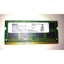 Memória 2gb Ddr3 1066mhz 2rx8 Smart Notebook Pc3-8500s