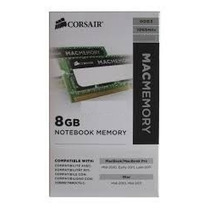 Memória Sodimm Notebook 8gb 1600 12800 Mac Corsair