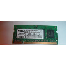 Memoria Promos 512mb 2rx16 Pc2-4200s Ddr2 533mhz 200pin Cl4