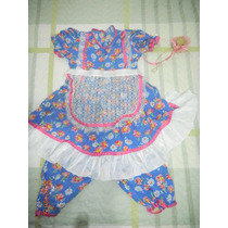Vestido De Quadrilha Baby