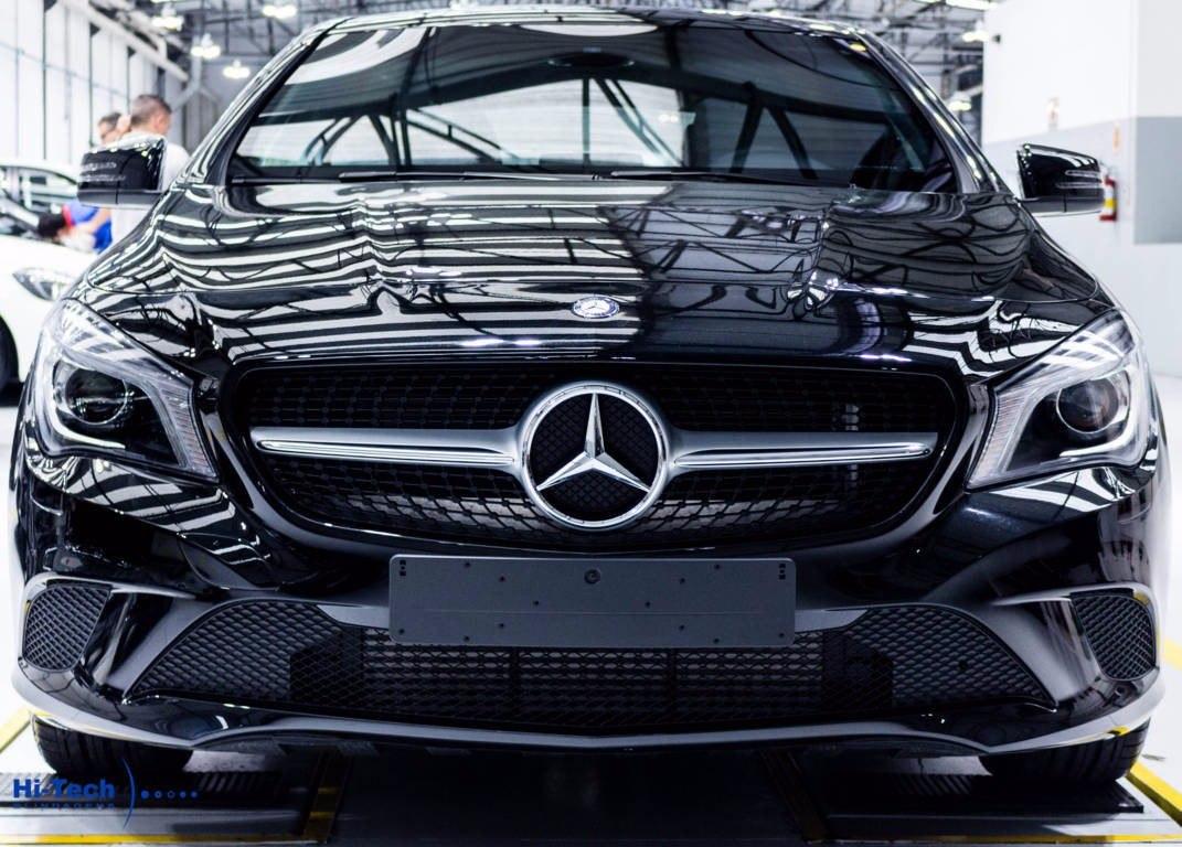 Mercedes benz cla 200 blindado hi tech 2016 ano 2016 0 for Mercedes benz techs