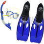 Kit Mergulho Completo - Máscara+nadadeiras+snorkel+bolsa