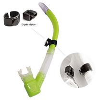 Snorkel Respirador Aero Pro Com Válvula Siliprene Seasub
