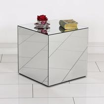 Mesa De Canto Espelhada Lapidada, Melhor Preço Confira!!!