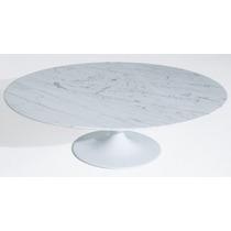 Mesa Saarinen Centro Oval Carrara 1.37 X 91 X 41h