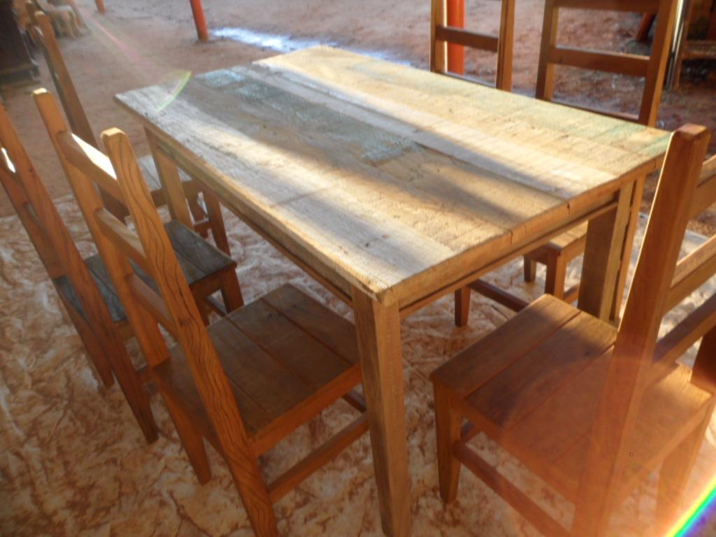 Mesa Churrasqueira  madeira Demolição Peroba 1 50 X 0 82 R$  #9D722E 1024x768