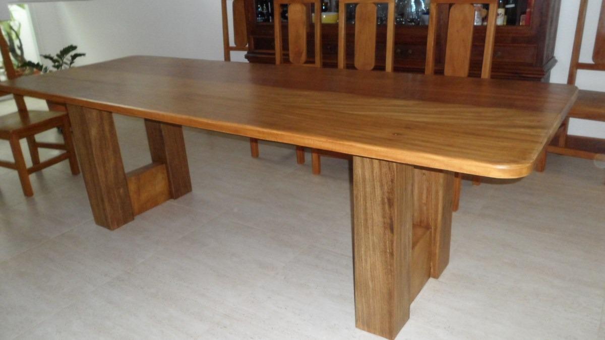 Mesa De Jantar  Madeira Demolição  Design Moderno  R$ 4500,00 no MercadoL # Cozinha Decorada Com Mesa De Madeira