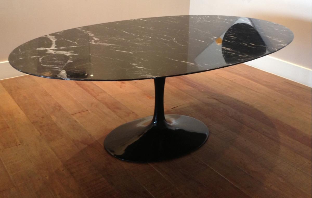 Mesa jantar redonda saarinen car interior design - Mesa de granito ...